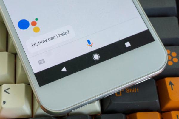 گوگل اسیستنت نمایشگر گوشی را میخواند