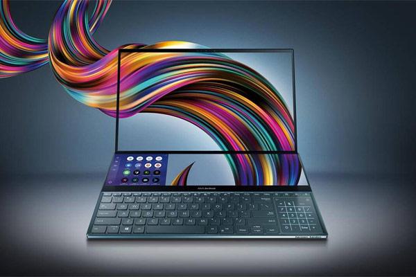 رونمایی ایسوس از لپ تاپ های سری ZenBook Duo با دو صفحه نمایشگر